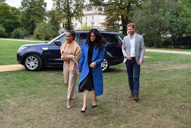 メーガン妃とハリー王子とドリア・ラグランド