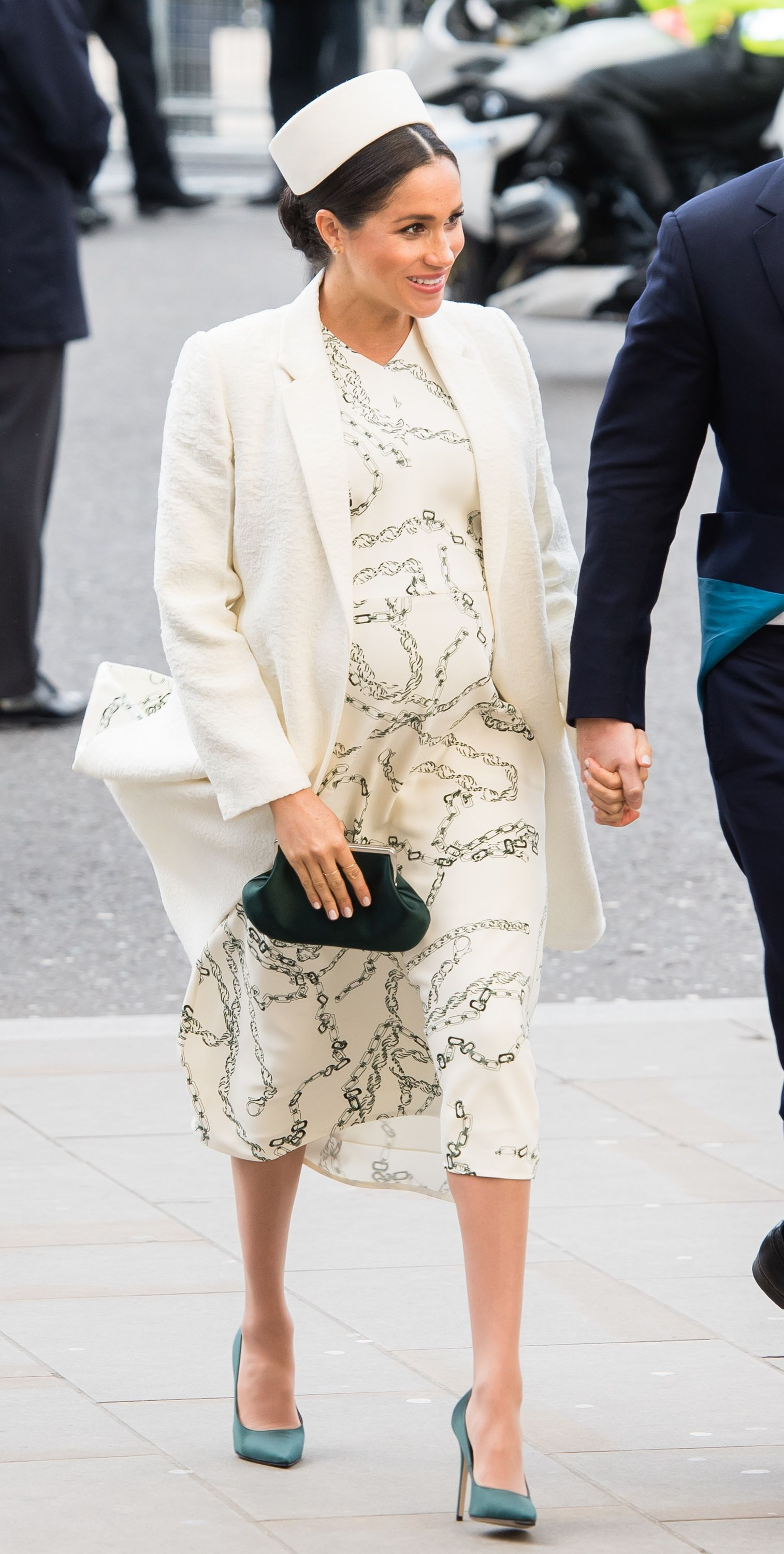 5c83351107ed2 Meghan Markle s Best Maternity Outfits - Duchess of Sussex s Chic Pregnant  Style