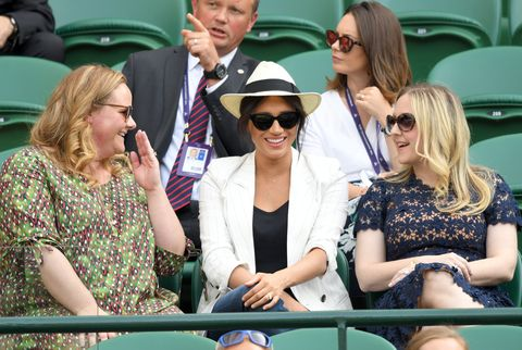 ae0ef6fbf182 Meghan Markle - Duchess of Sussex At Wimbledon To See Serena Williams