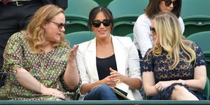 Meghan Markle, Wimbledon, Serena Williams, ketting A