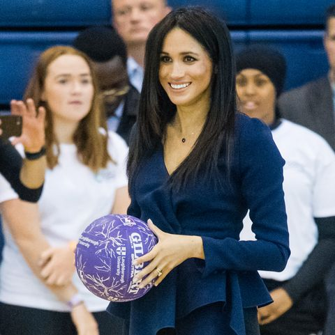 Meghan Markles Hairstyle Was A Pregnancy Clue Meghan Markle Is