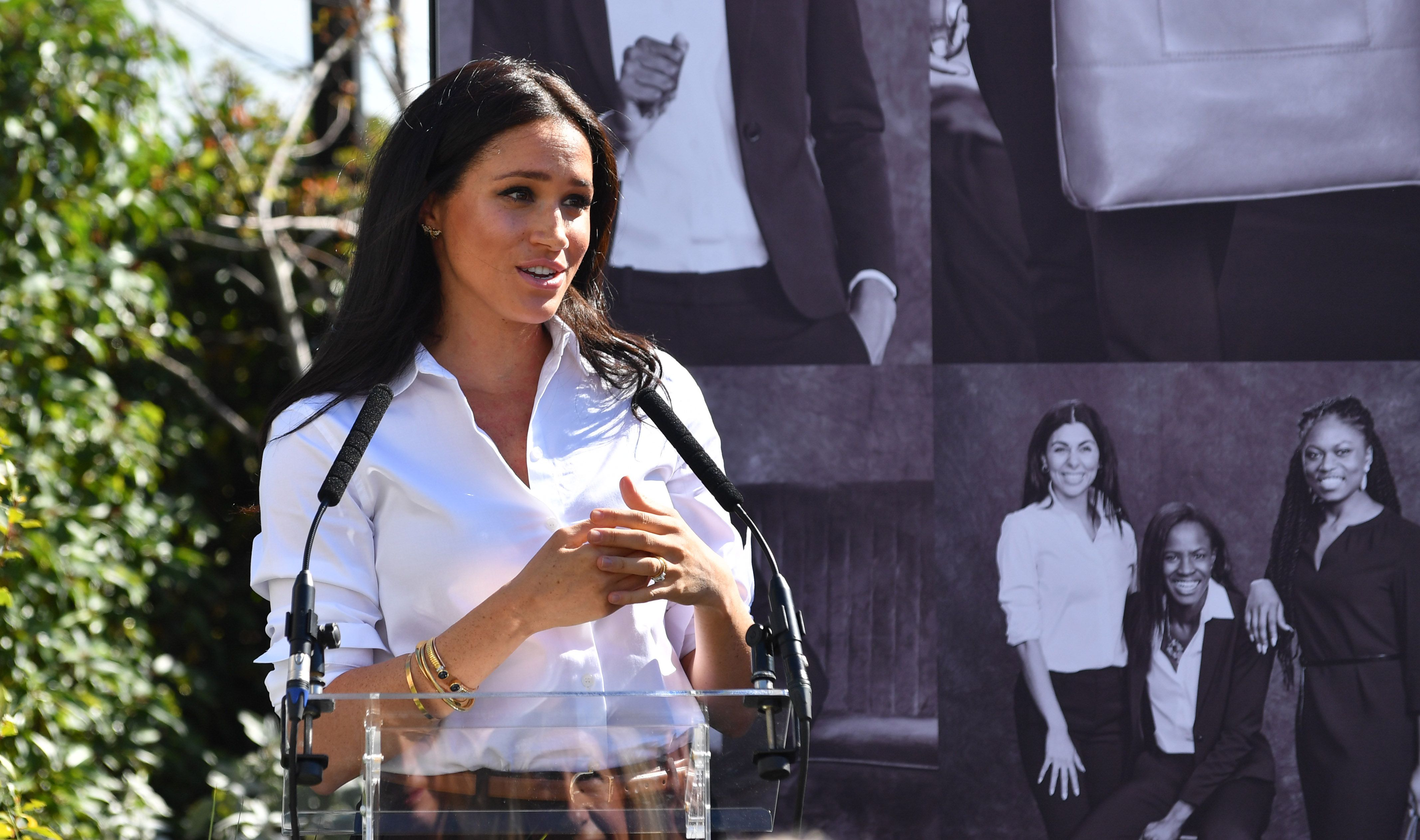 Inside the Launch of Meghan Markle's New Fashion Collection with Smart Works