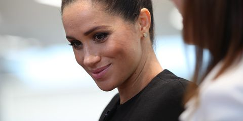Meghan Markle The Duchess Of Sussex Visits Association Of Commonwealth Universities