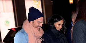 Meghan Markle, Markus Anderson, New York, Serena Williams, bezoek, babyshower