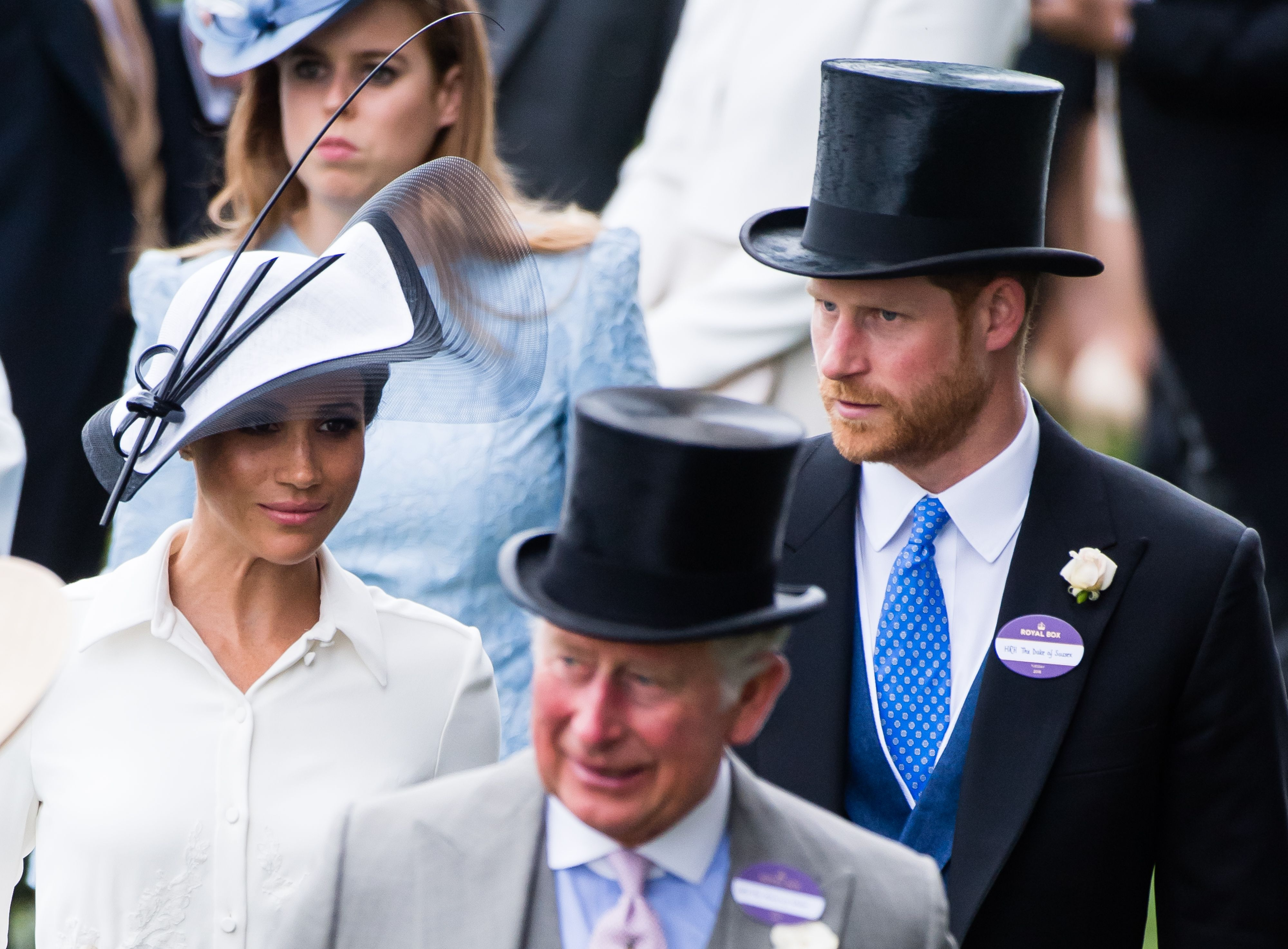 """Prince Charles Will """"Offer Private Financial Support"""" to Prince Harry and Meghan Markle"""