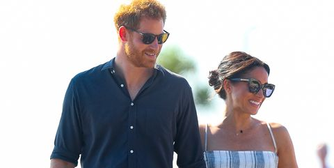 44a4d0ffe Meghan Markle Just Rocked a Thigh-High Slit for Her Royal Tour Reunion with Prince  Harry