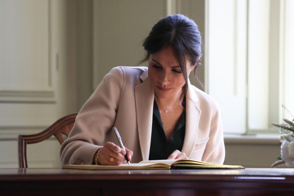 Meghan Markle's First Book Sits in the Library of Congress