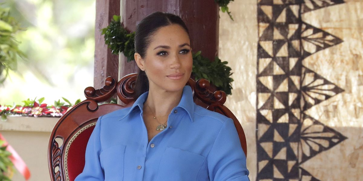 Why Meghan Markle Won't Be Attending the Unveiling of the Late Princess Diana's Statue - HarpersBAZAAR.com