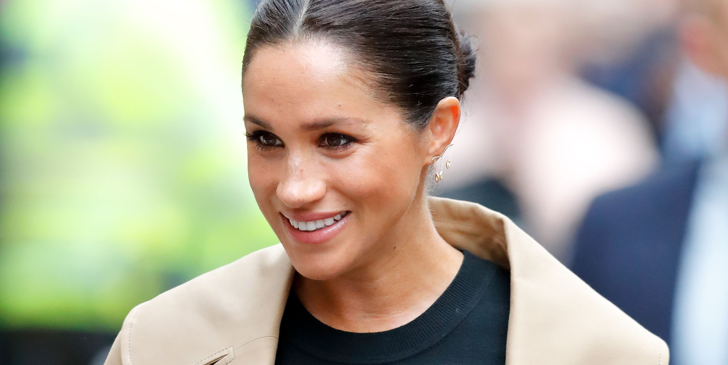Why Meghan Markle Has Worn Neutral Palettes, Black and Muted Colors to Her Royal Engagements