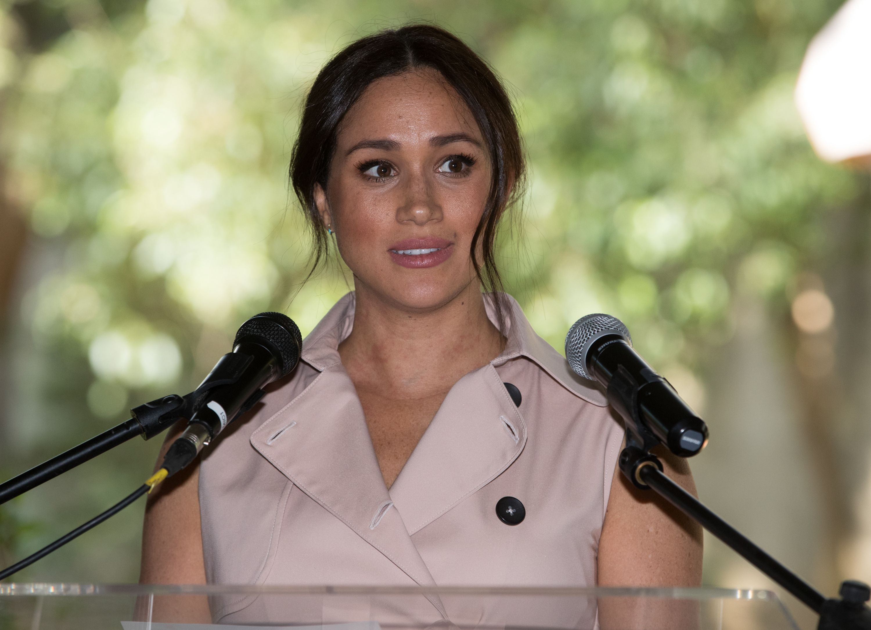 Meghan Markle Responds to Critics Who Say Media Scrutiny Is Just Part of Life in the Public Eye