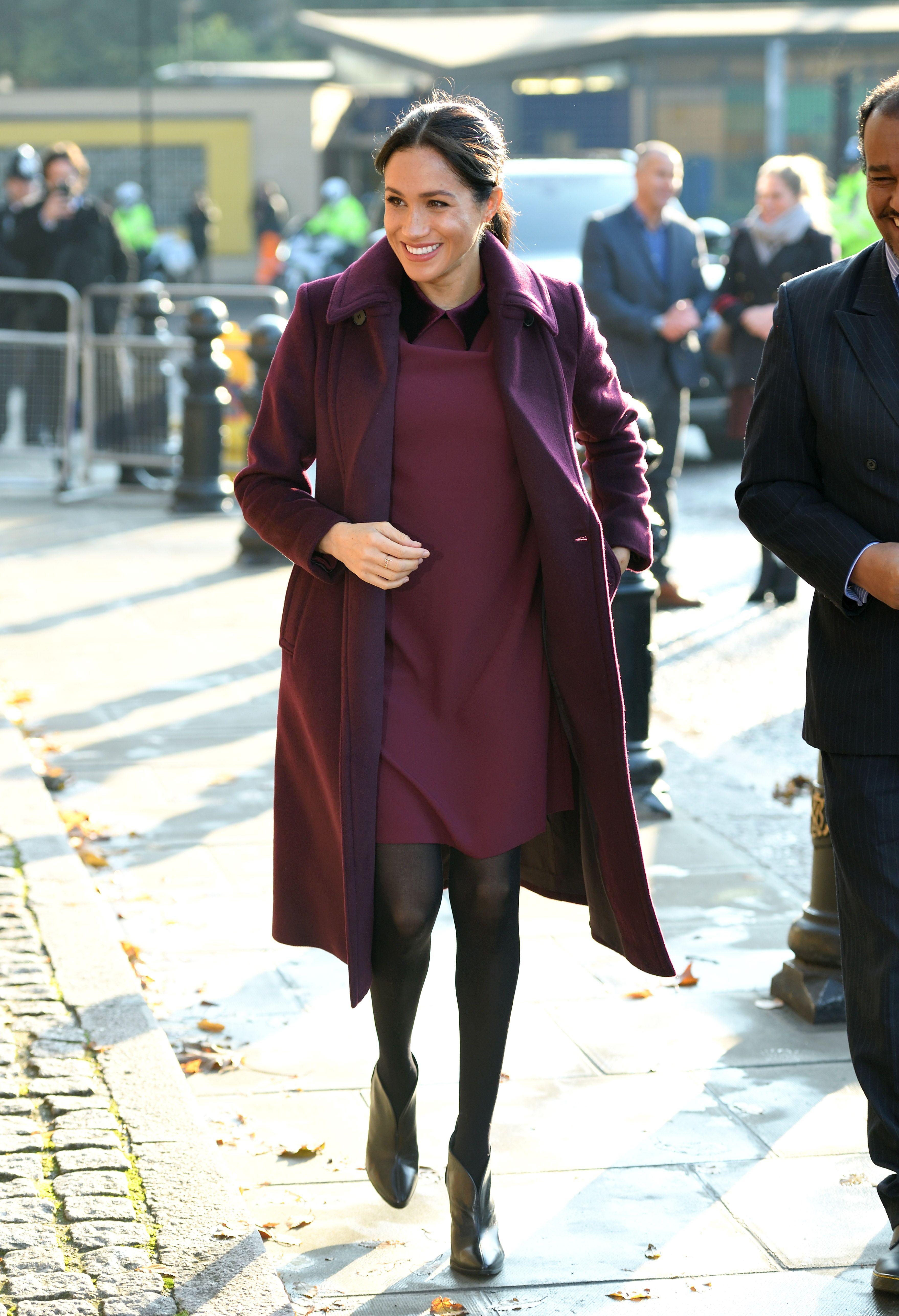 Best Meghan Markle Pregnant Style Looks Princess Meghan Maternity