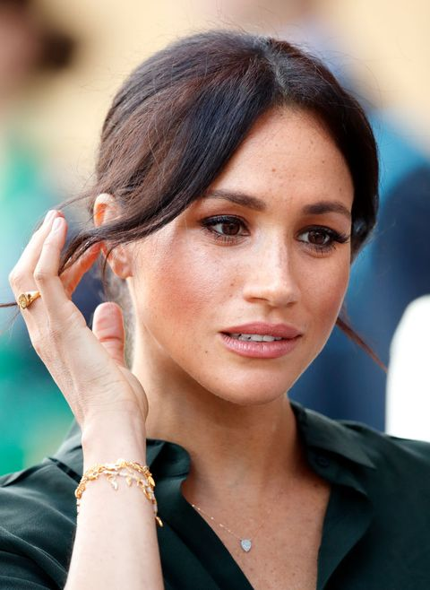 meghan markle wears a missoma ring while visiting sussex