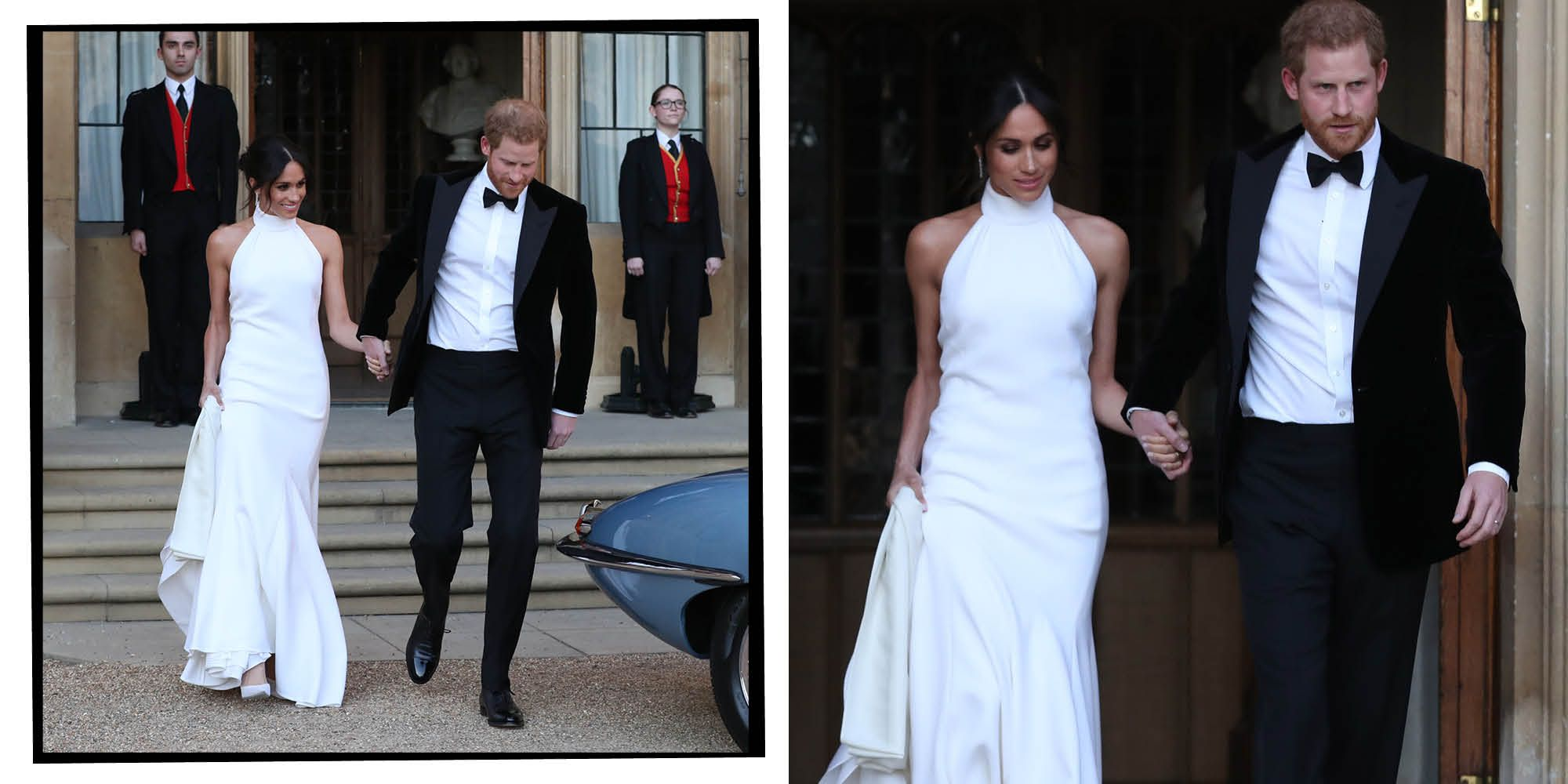 Meghan Markle Stella McCartney wedding dress