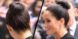 Meghan Markle hair ballerina bun