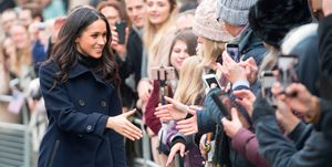 Meghan Markle's bag in Nottingham
