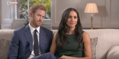 Meghan Markle And Prince Harry On Meeting Falling In Love Proposing Meghan And Harry Bbc Interview Highlights