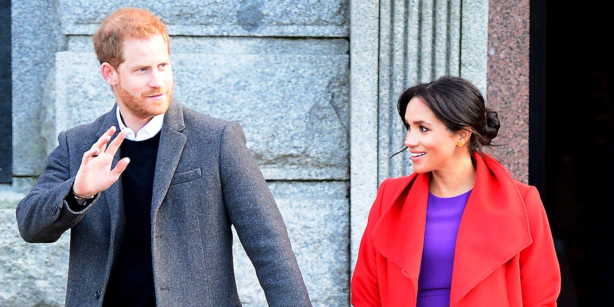 Meghan and Harry in Birkenhead