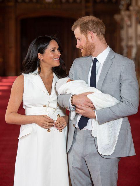 Meghan y Harry en lapresentación oficial de su hijo Archie