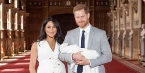 Meghan Markle, prins Harry en baby Archie