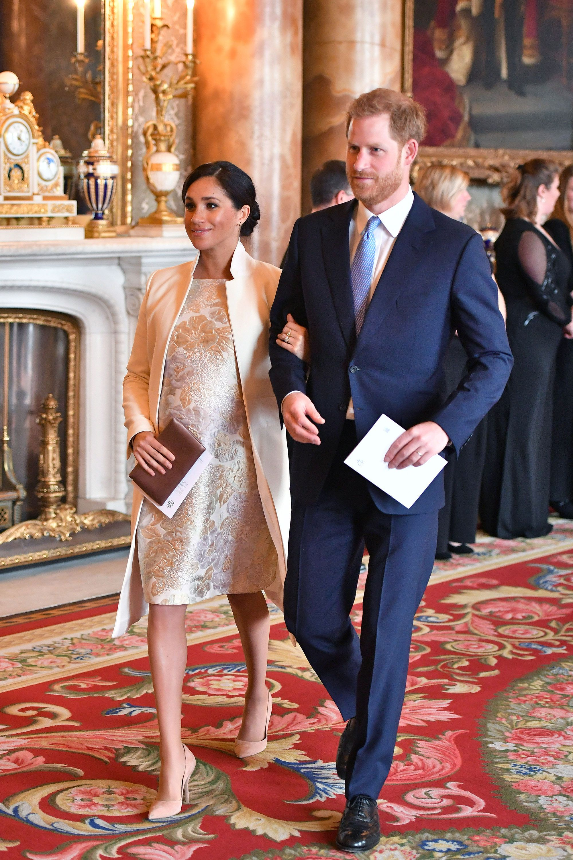 Kate Middleton Meghan Markle Prince William And Prince Harry