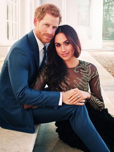 Príncipe Harry y Meghan Markle foto anuncio compromiso boda