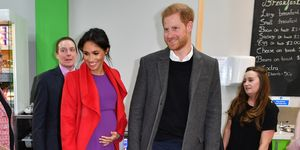 Meghan Markle just revealed which month her baby is due