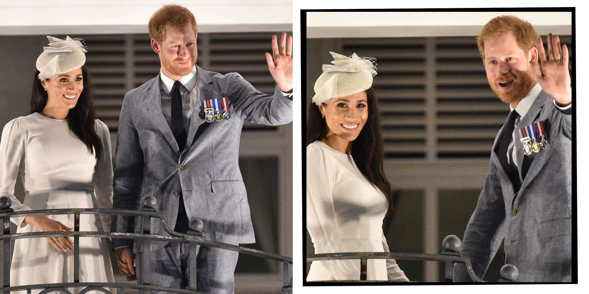 Meghan Markle and Prince Harry on royal tour of Fiji