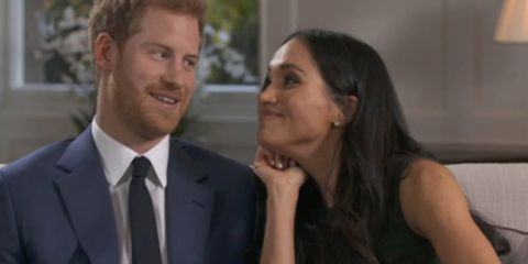 See Prince Harry and Meghan Markle acting all goofy behind the scenes of their official interview