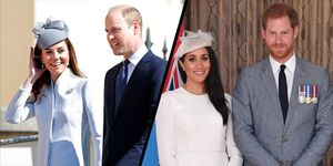 William, Kate, Meghan and Harry