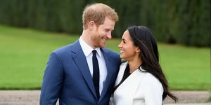 Harry Meghan engagement pictures