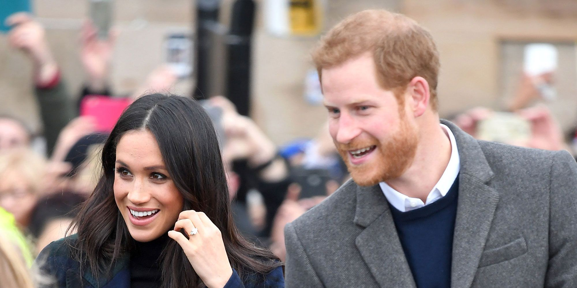 Prince Harry and Meghan Markle were sent post containing an unknown white powder