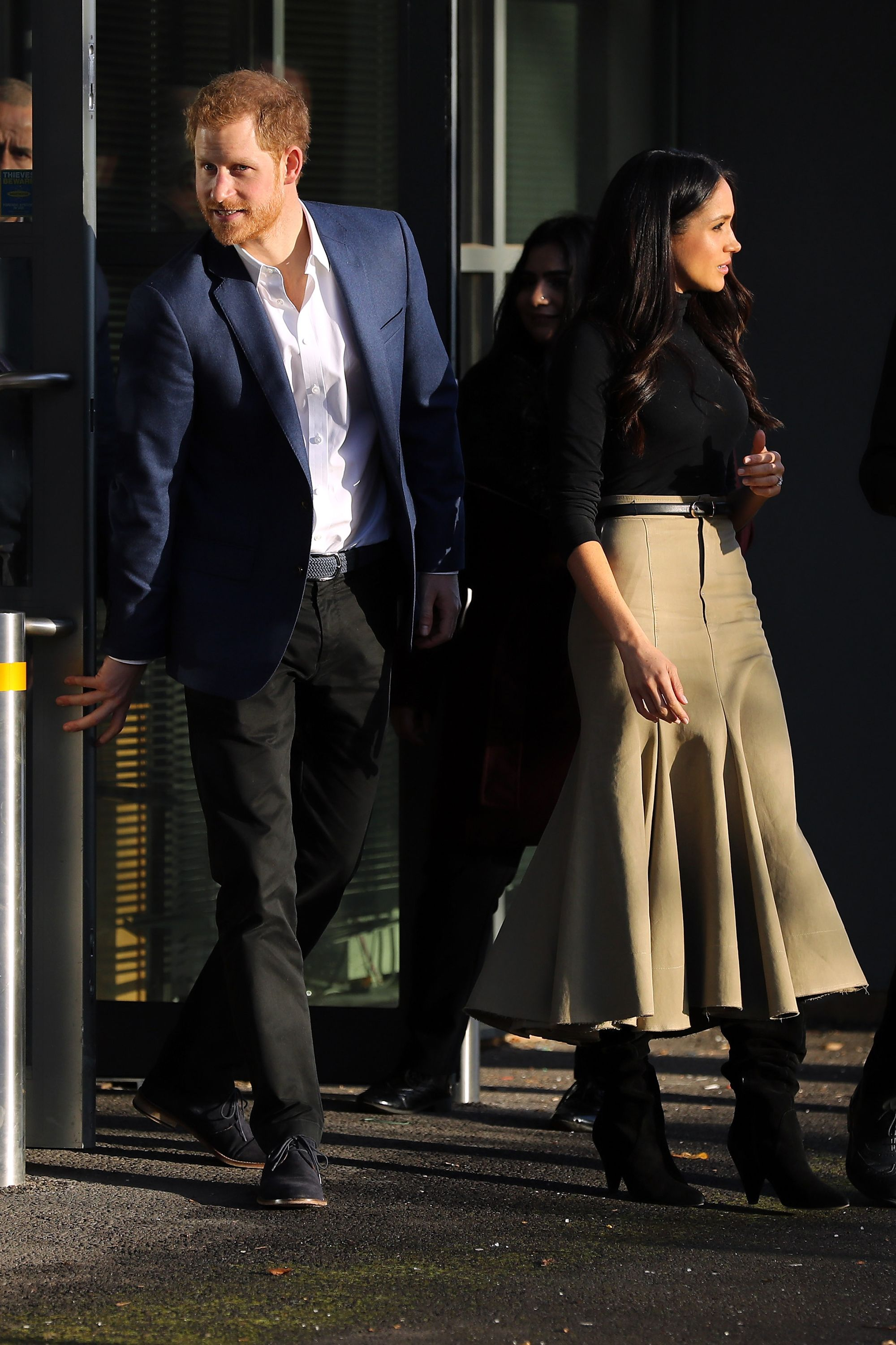 Meghan Markle's skirt
