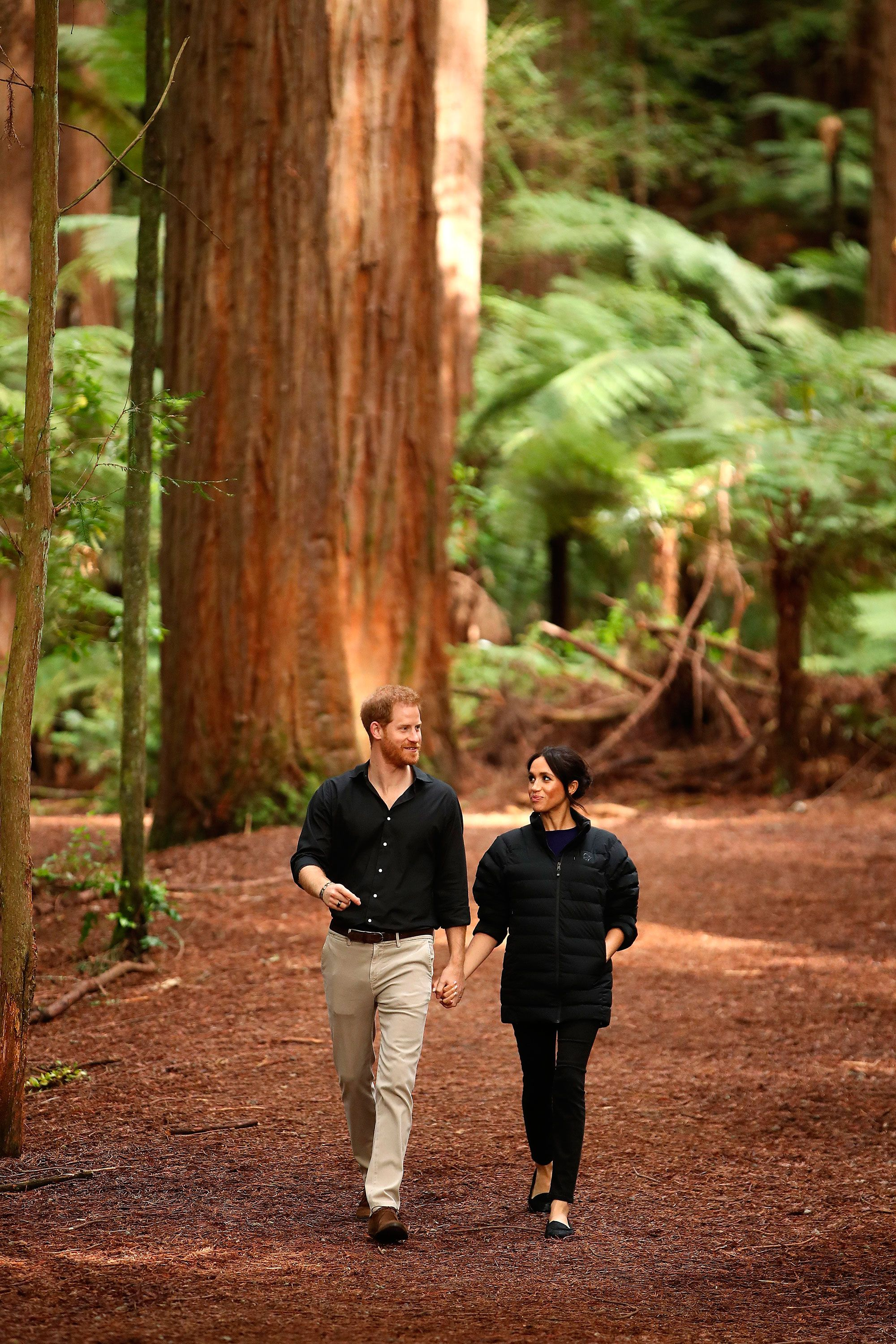 Meghan and Harry in New Zealand