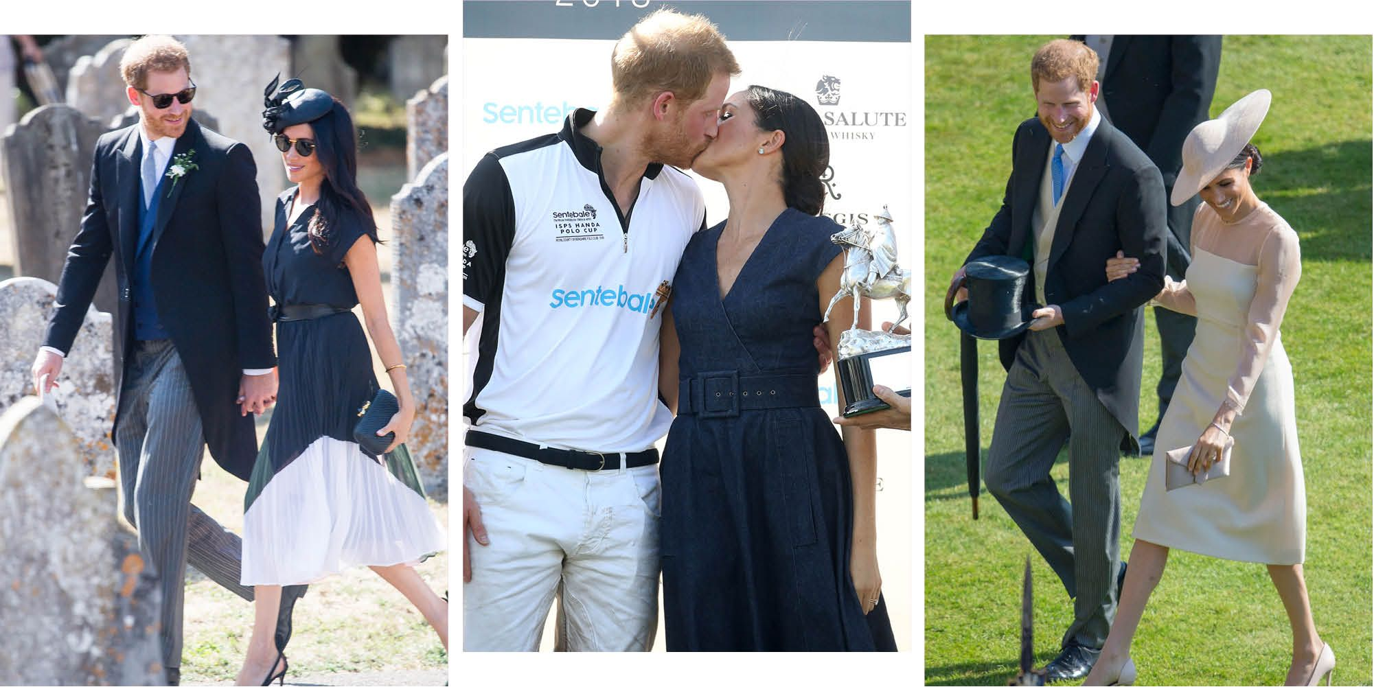 Prince Harry and Meghan's cutest public displays of affection