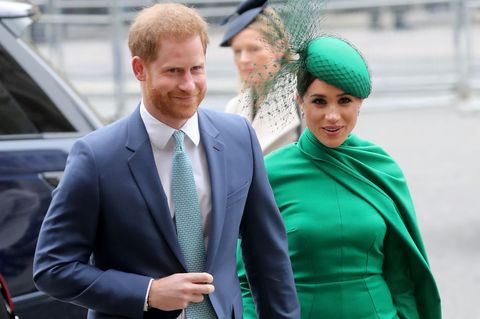 meghan and harry respond to trump twitter rant