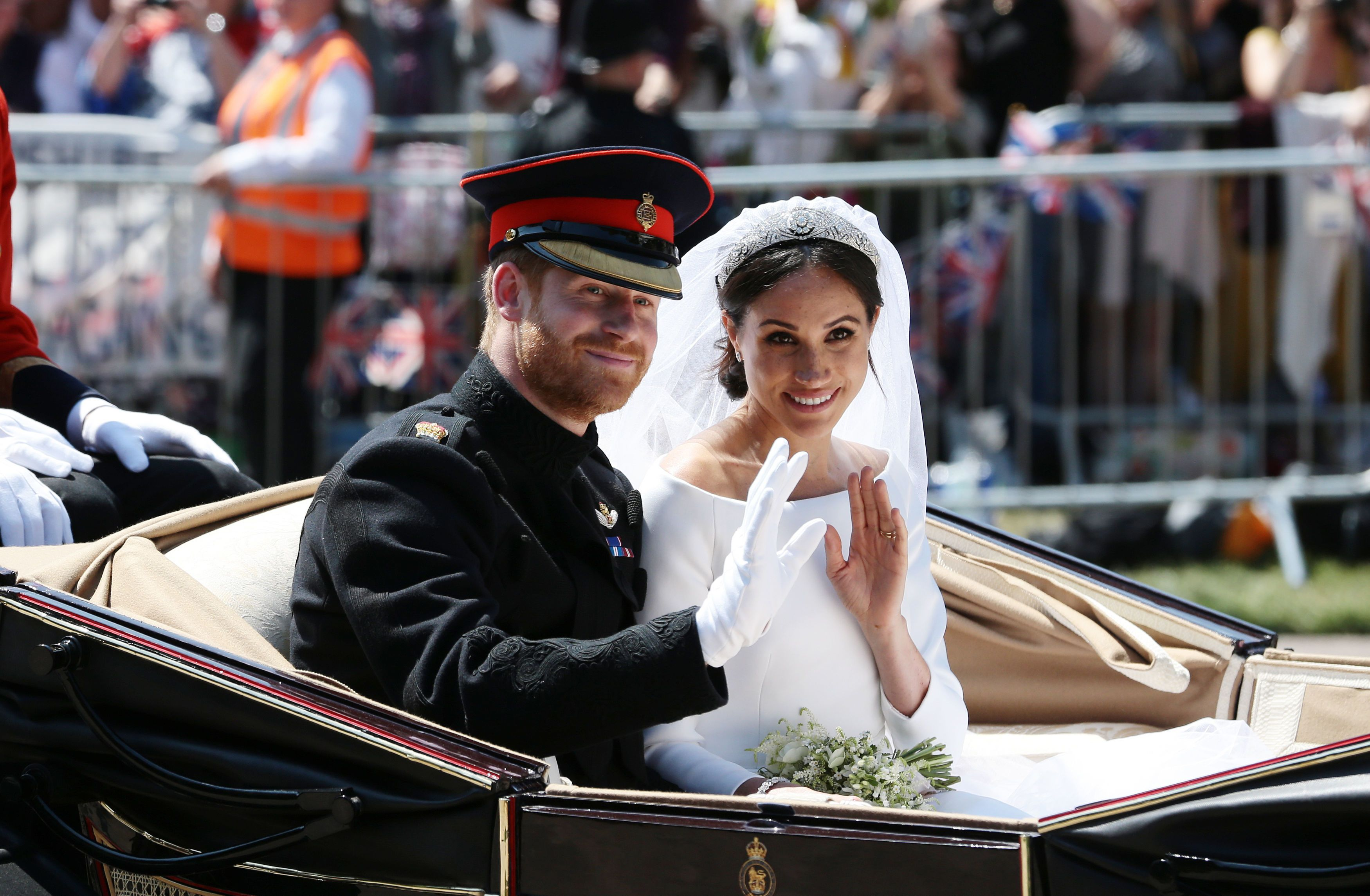 The Sweet Ways Meghan Harry Honoured Diana On Their Wedding Day