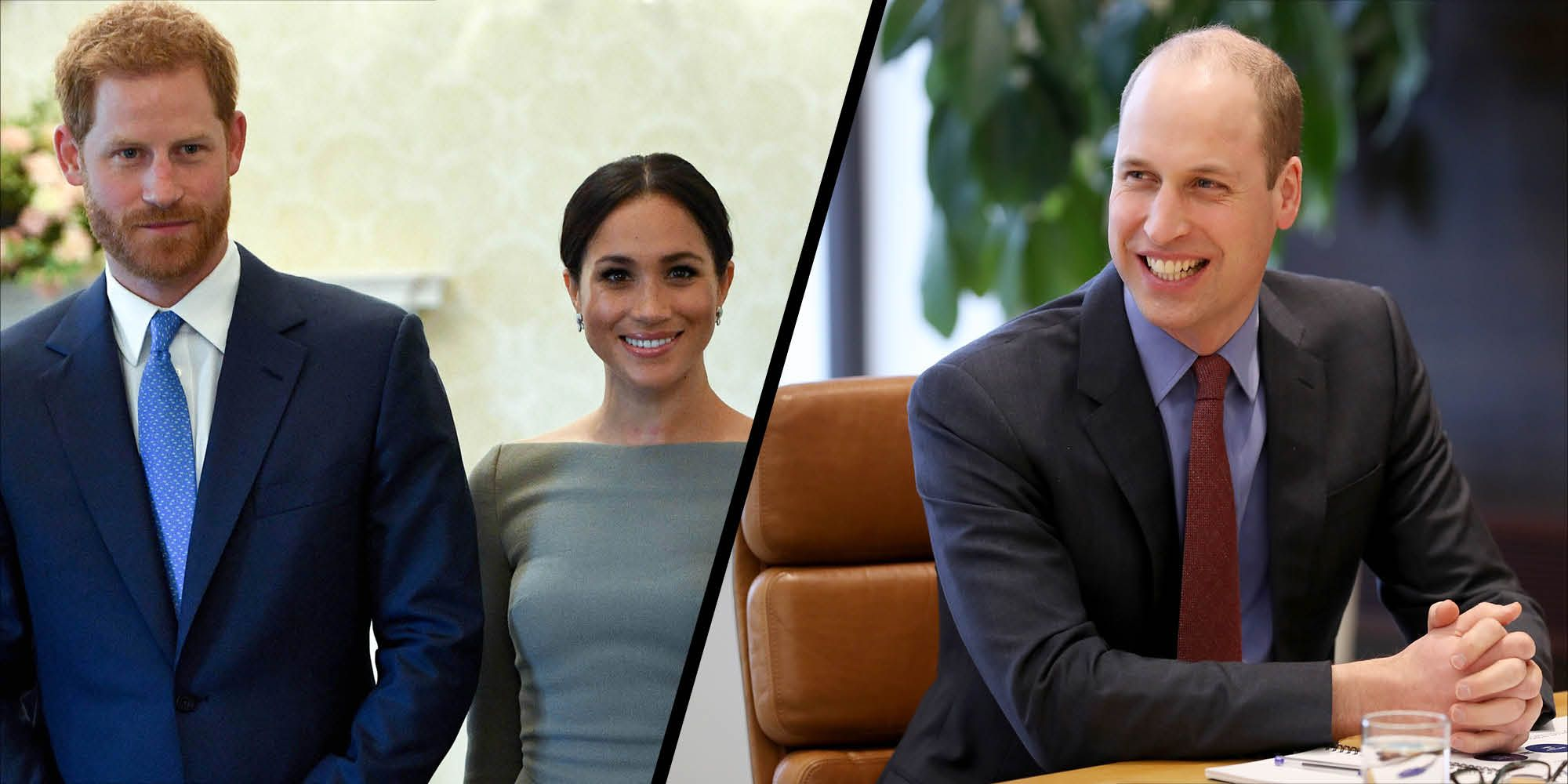 Harry, Meghan and William