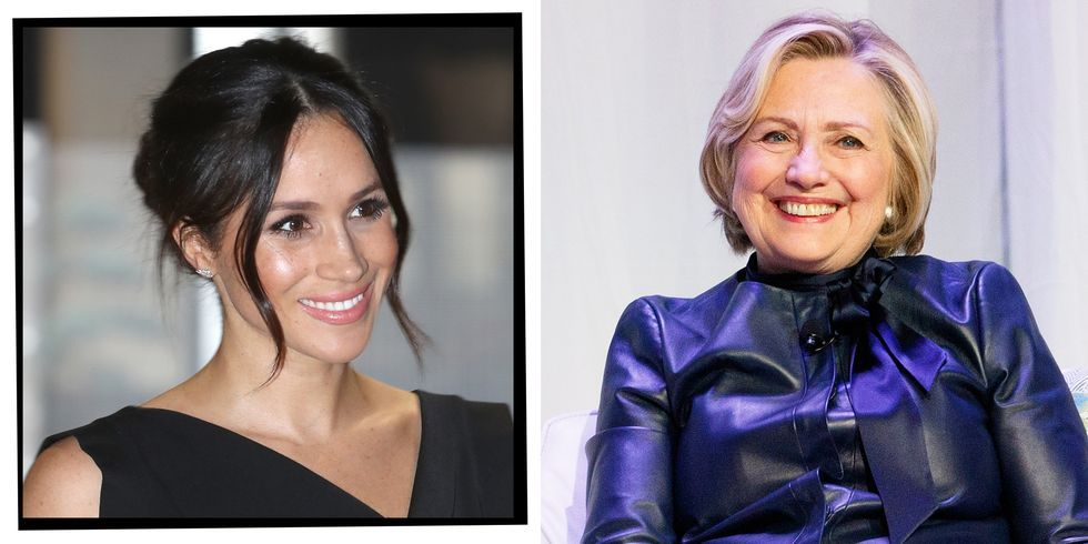 Hillary Clinton on Meghan Markle: 'Oh My God, I Want to Hug Her!'