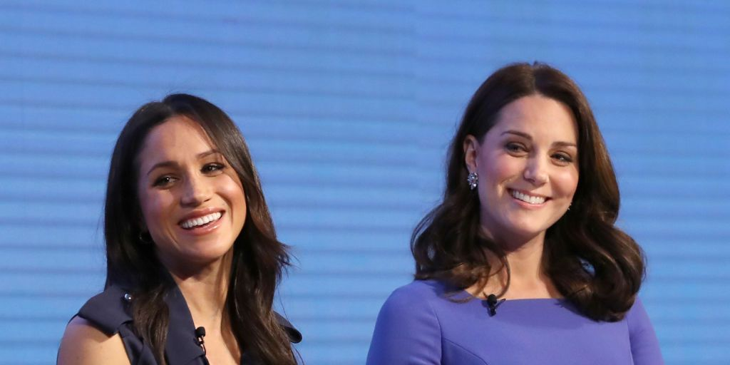 Meghan Markle and Kate Middleton body language