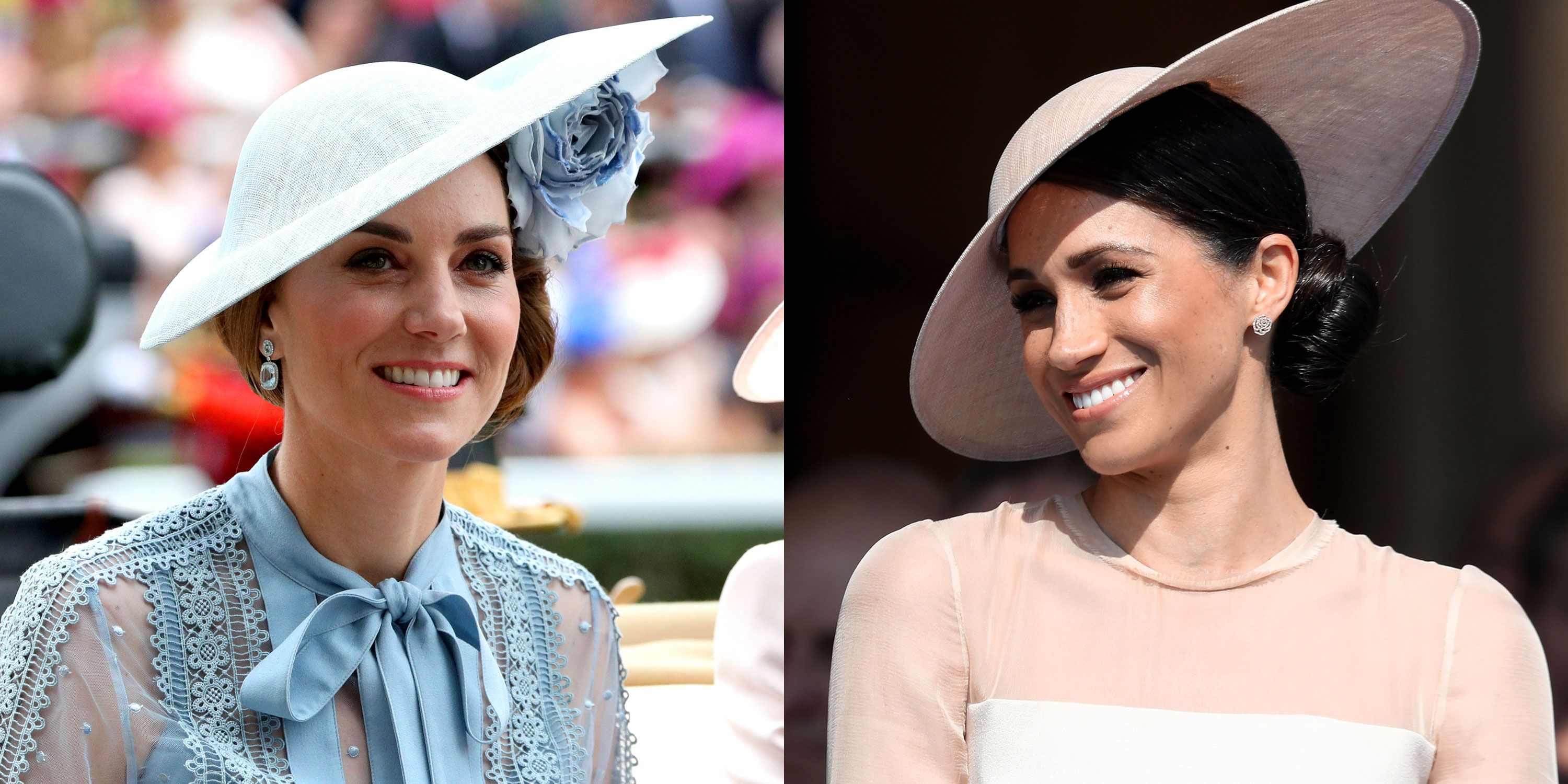 Kate Middleton Wore the Same Hat as Meghan Markle at Royal Ascot 2019
