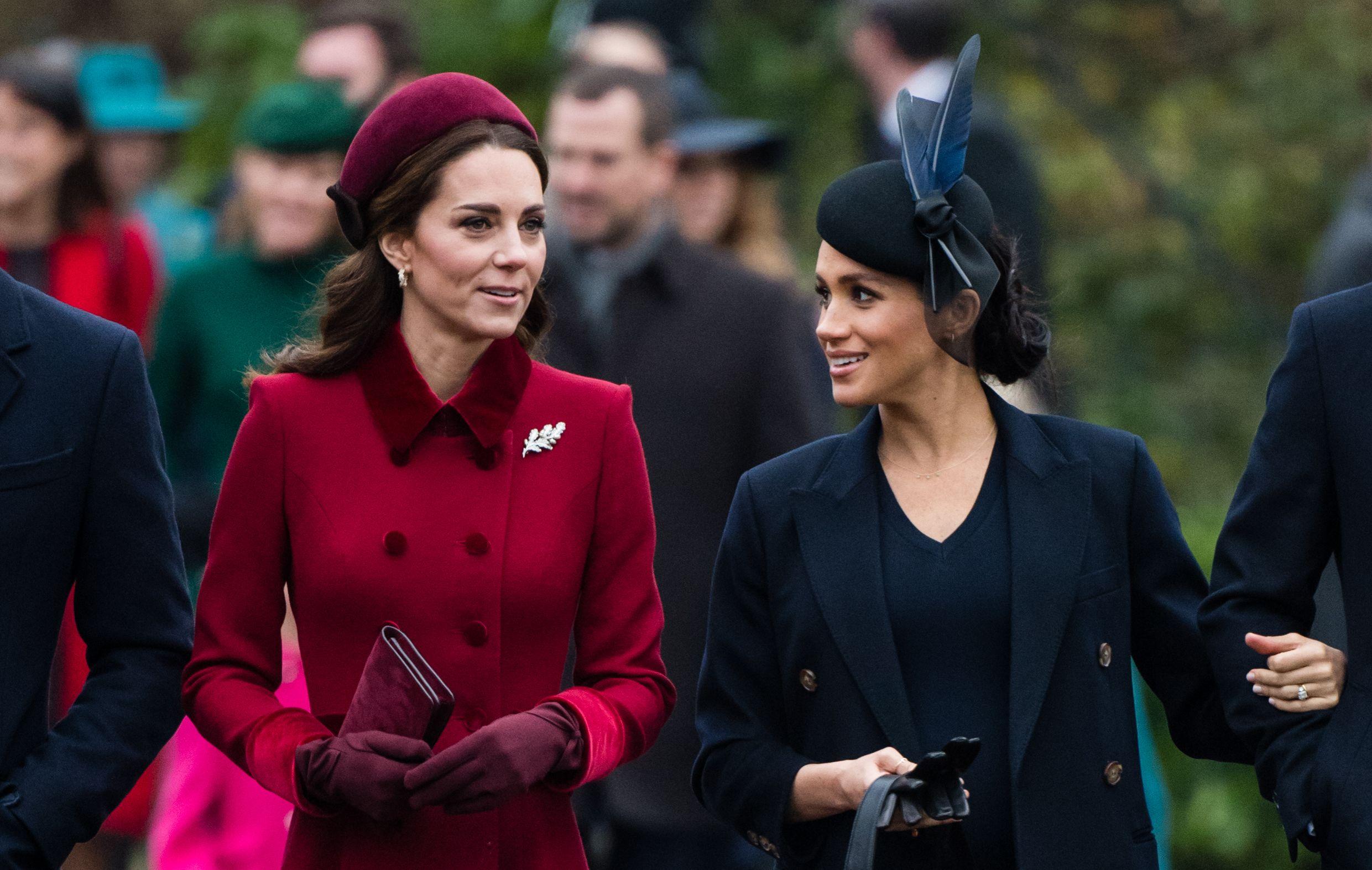 Why Kate Middleton and Meghan Markle Skipped Gabriella Windsor's Wedding