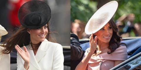 meghan markle kate middleton trooping the colour