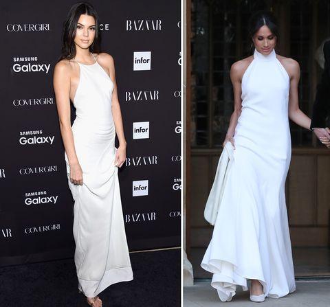Meghan Markle kendall jenner stijlinspiratie, stijlvoorbeeld, fashion twins