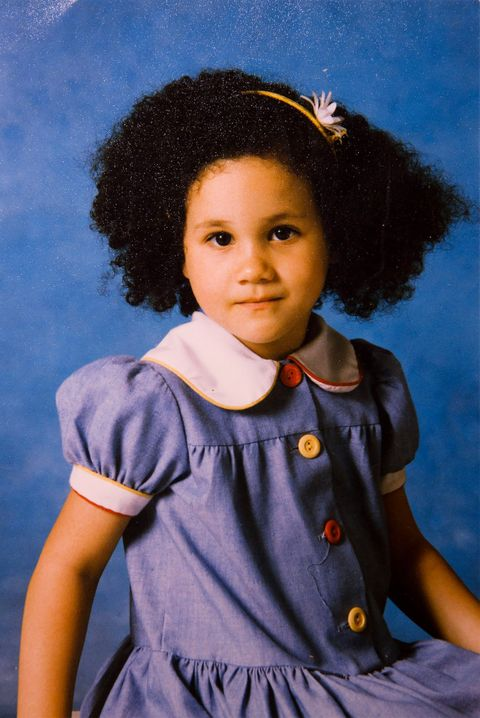 Child, Portrait, Hairstyle, Smile, Child model, Afro,