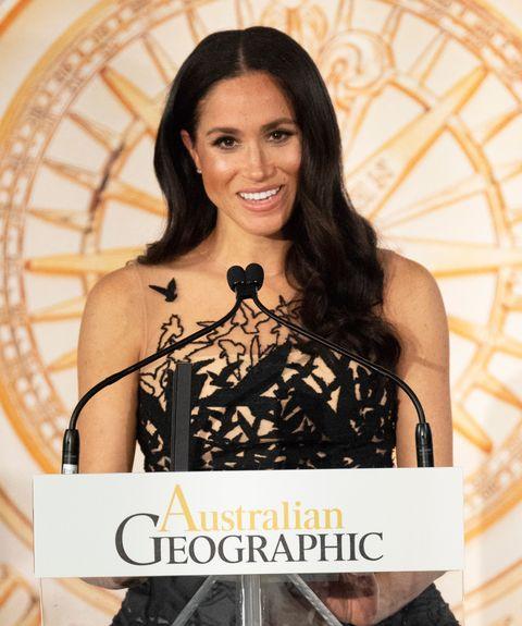 Meghan Markle, más princesa que nunca con su último look de Oscar de la Renta