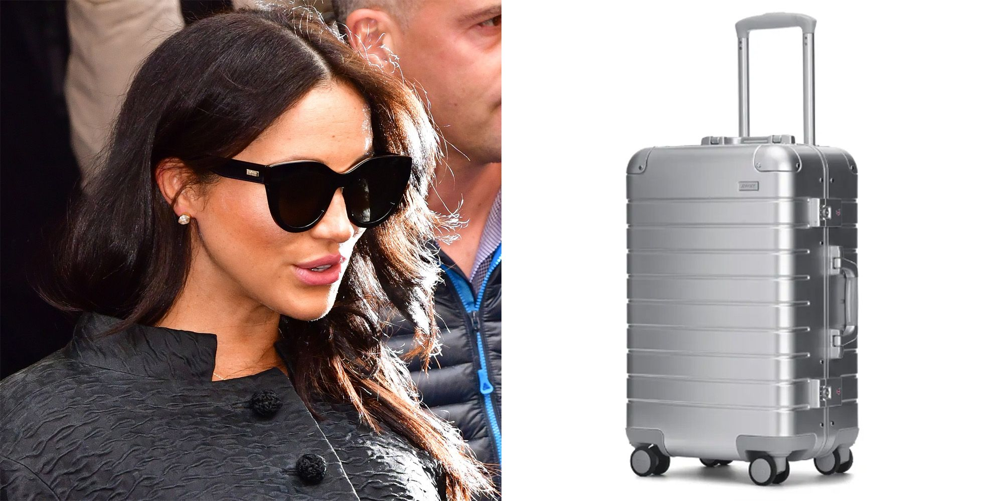 3fb6d2ee8144 Meghan Markle Gifted Away Suitcases as Party Favors — Meghan Markle Baby  Shower Gifts