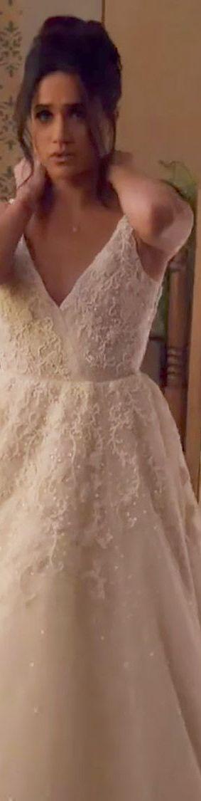 6b7dd9df536 The 34 Dreamiest TV Wedding Dresses — Best Wedding Dresses from ...