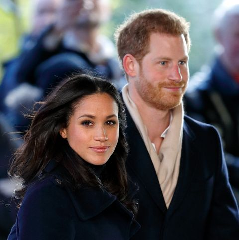 prince harry  meghan markle visit nottingham