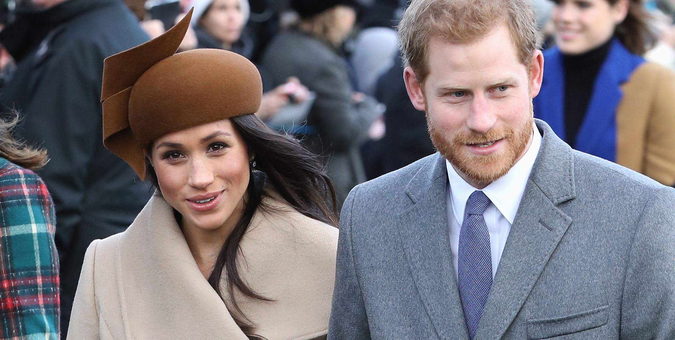 Meghan Markle and Prince Harry Secretly Attended a Christmas Reception Together
