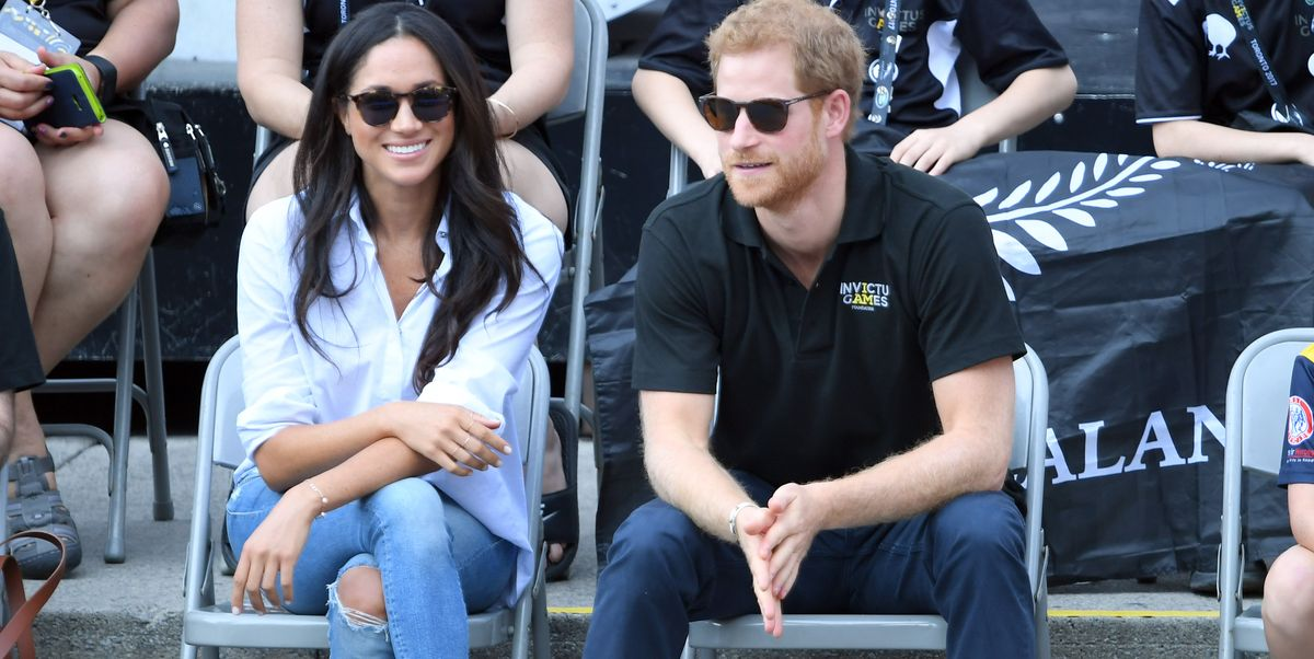 The Jeans Meghan Markle Wore on Her First Public Date With Harry Are on Sale, FYI